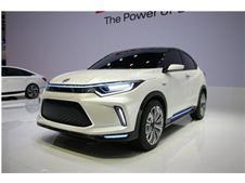 本田首款电动概念车—EV Concept 现身芒果(长沙)国际车展